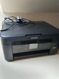 Epson xp4100 Printer with Ink and Paper