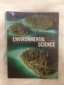 Environmental Science, A Canadian Perspective 5th ed. Textbook