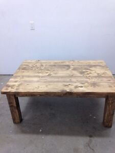 Handcrafted Coffee Table - $300 OBO