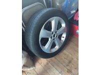 "Vauxhall mokka 18"" alloy wheel"