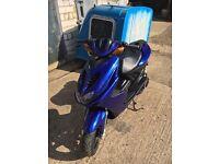 Yamaha Aerox 50 moped scooter tuned ped 2012