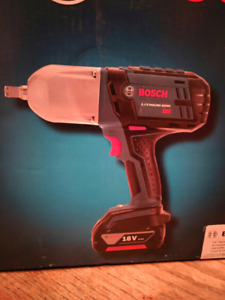 Bosch Cordless Impact Wrench *NEW*