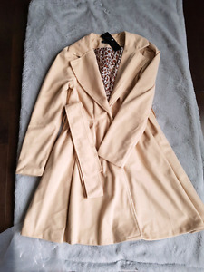 Brand new beige coat