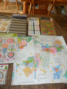 Scrap Booking Items to much to mention $25