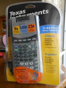 Calcaculatrice Texas Instruments TI-84 Plus Silver Edition neuve