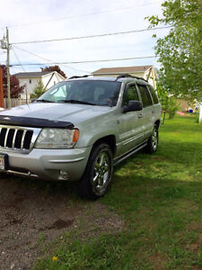 2004 wow jeep 4x4 grand cheerkoe overland v8  needs motor4extra