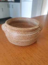 handcrafted pot.