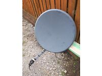 Satellite dishes 1.2 mtrs and 1 mtr