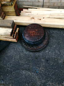 Drain covers, cast iron