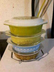 Lots of pyrex