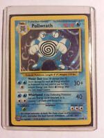 *****Rare Mint Holographic Pokemon Card - Poliwrath*****