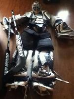 Équipement complet de gardien (hockey sur glace)