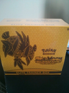 Pokemon Cards Guardians Rising Trainer Box SEALED!