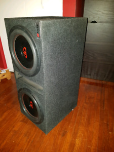 2 12 inch subs 612 series