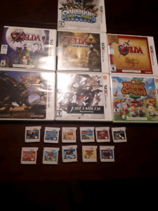Nice selection Of Nintendo 3ds And Nintendo DS Games!