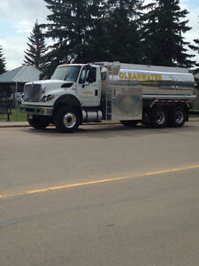 2013 maxforce 7500 potable water truck Edmonton Edmonton Area image 1