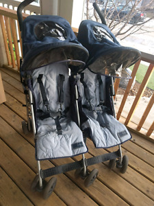 MacClaren double umbrella stroller
