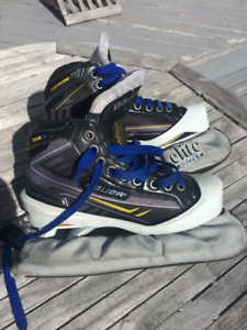 Bauer Supreme ONE.9  (Junior Size 4) Goalie Skate