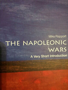 THE NAPOLEONIC WARS - A VERY SHORT INTRODUCTION