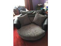 Byron large swivel chair