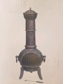 112CM Cast Iron Chimenea