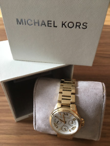 Michael Kors Womens Watch - Gold