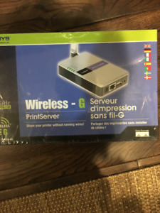 Linksys  Wireless Print Server