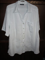 Ladies plus size white blouse from Penningtons size 1X
