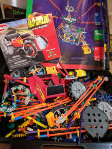 Knex Racer and Octopus Whirl