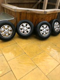 Ford ranger alloys + tyres