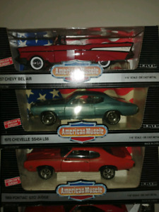 1:18 Scale Diecast Cars, Prices Listed