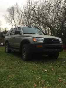 1998 TOYOTA 4RUNNER REAL 4x4 STILL INSPECTED $3200 OBO