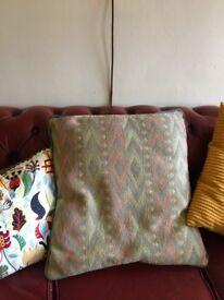 Large decorative cushion