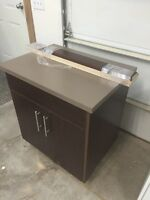 "Selling new 30"" vanity with countertop"