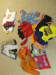 Toddler boys clothing lot 18-24 months