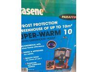 Green house paraffin heater