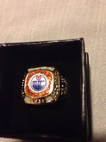 Edmonton Oilers Molson Canadian Stanley Cup Ring!