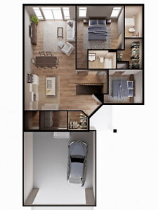BRAND NEW CONDOS! 239 EVELINE ST, SELKIRK R1A 1L8