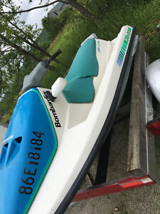 Ready for the lake 1991 GT sea doo