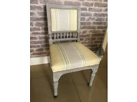 Antique Laura Ashley covered chair