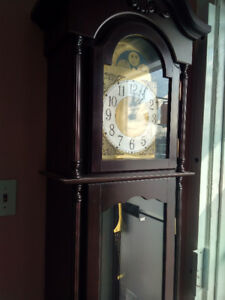 Selling Wooden Grandfather Clock Quartz Condo Size
