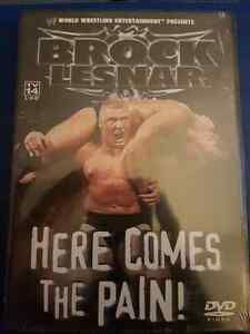 WWE Brock Lesnar Here Comes The Pain DVD (New)