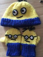Minion set (homemade) 12-24 months