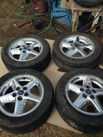 16 inch Pontiac Chrome rims