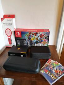 Nintendo Switch Super Smash Bros Ultimate Edition