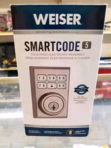 WEISER Smartcode 5 Touchpad Deadbolt