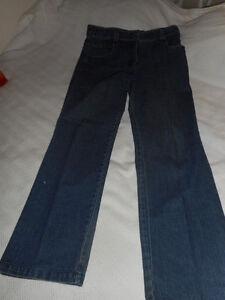 Pantalons en jean, velours côtelé et laine.