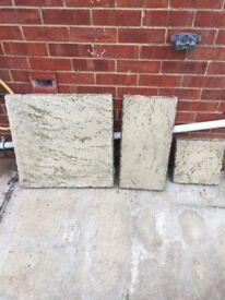 Patio slabs good quality 60m2