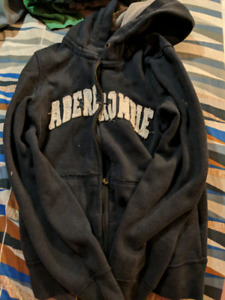 Abercombie zipup sweater size medium