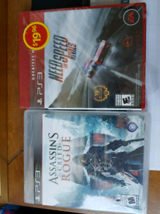 PS3 Games (2) Brand New!